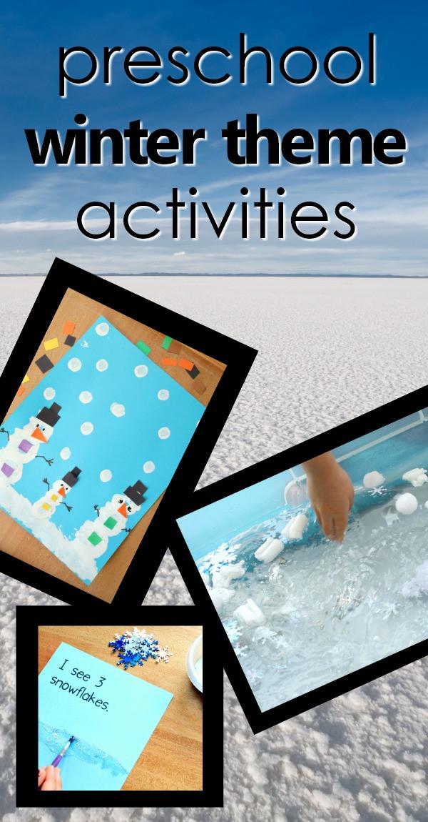 Winter Themed Activities For Preschoolers  Preschool Winter Theme Activities Fantastic Fun & Learning