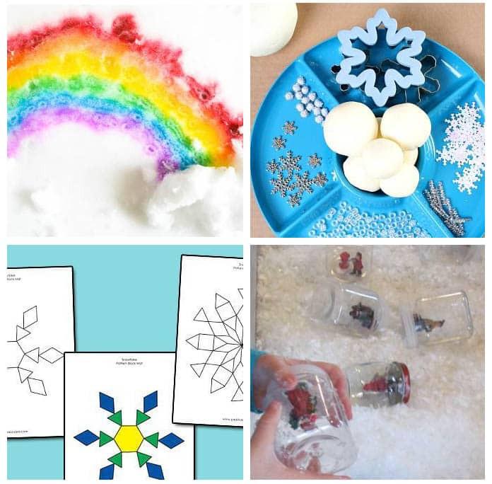 Winter Themed Activities For Preschoolers  Winter Theme Activities for Preschoolers