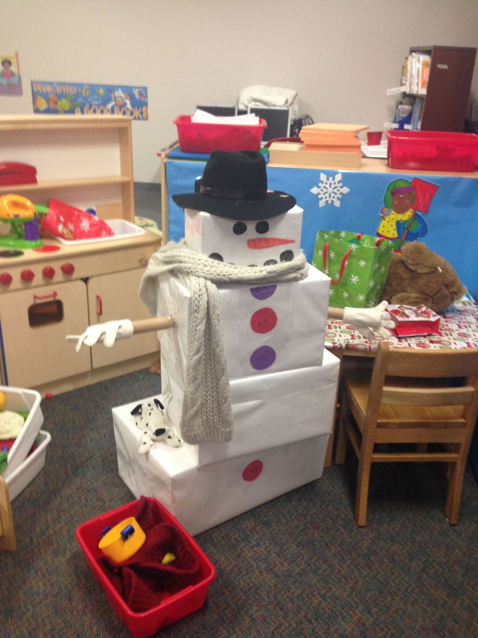 Winter Themed Activities For Preschoolers  Do you want to build a snowman