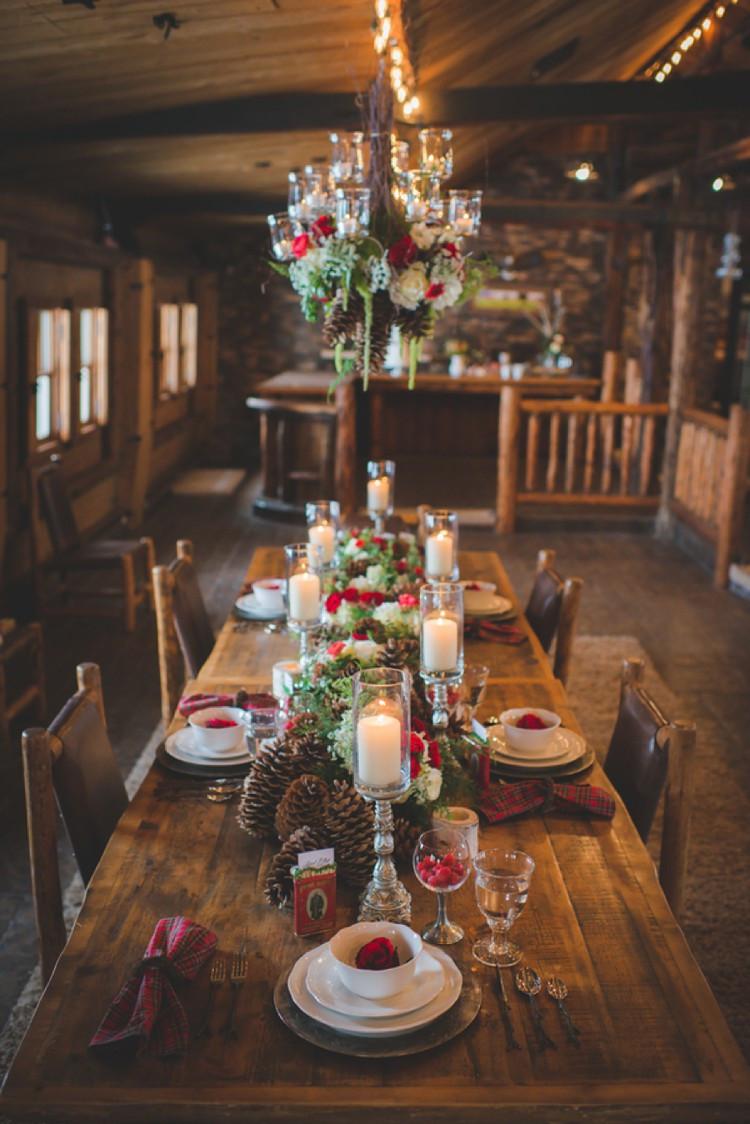 Winter Wedding Ideas Themes  35 Awesome Festive Christmas Theme Winter Wedding Ideas