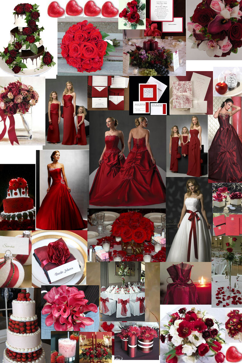Winter Wedding Ideas Themes  Winter wedding theme – burgundy