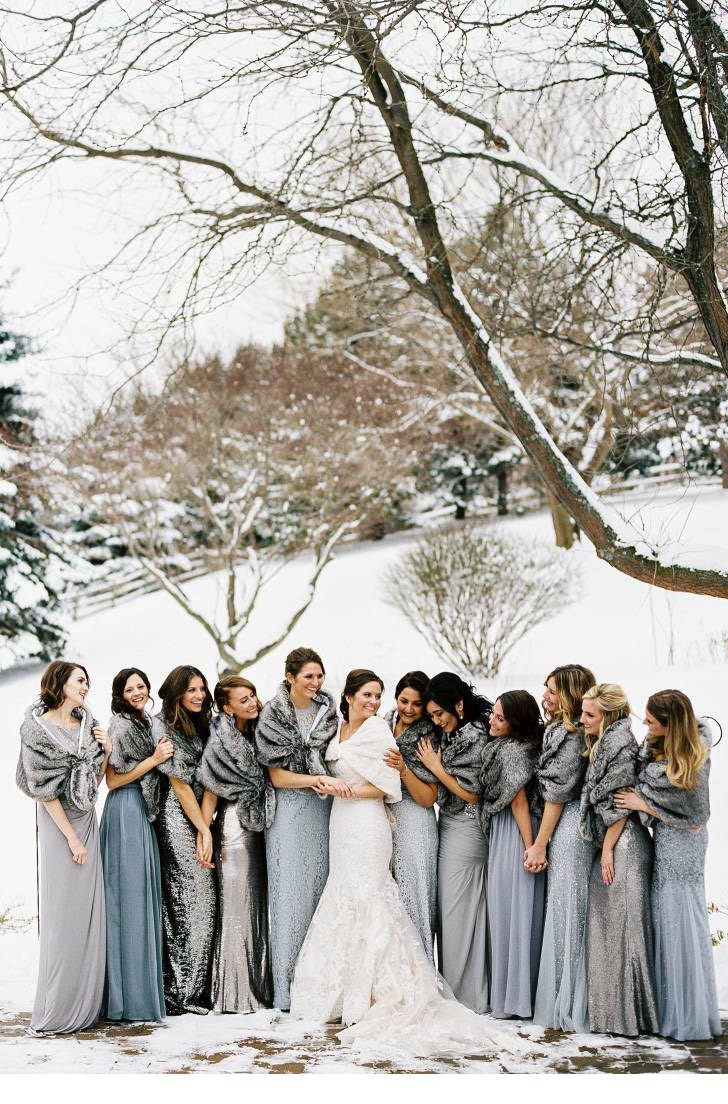 Winter Wedding Ideas Themes  The Perfect Glitter and Sparkle Winter Wedding Ideas by