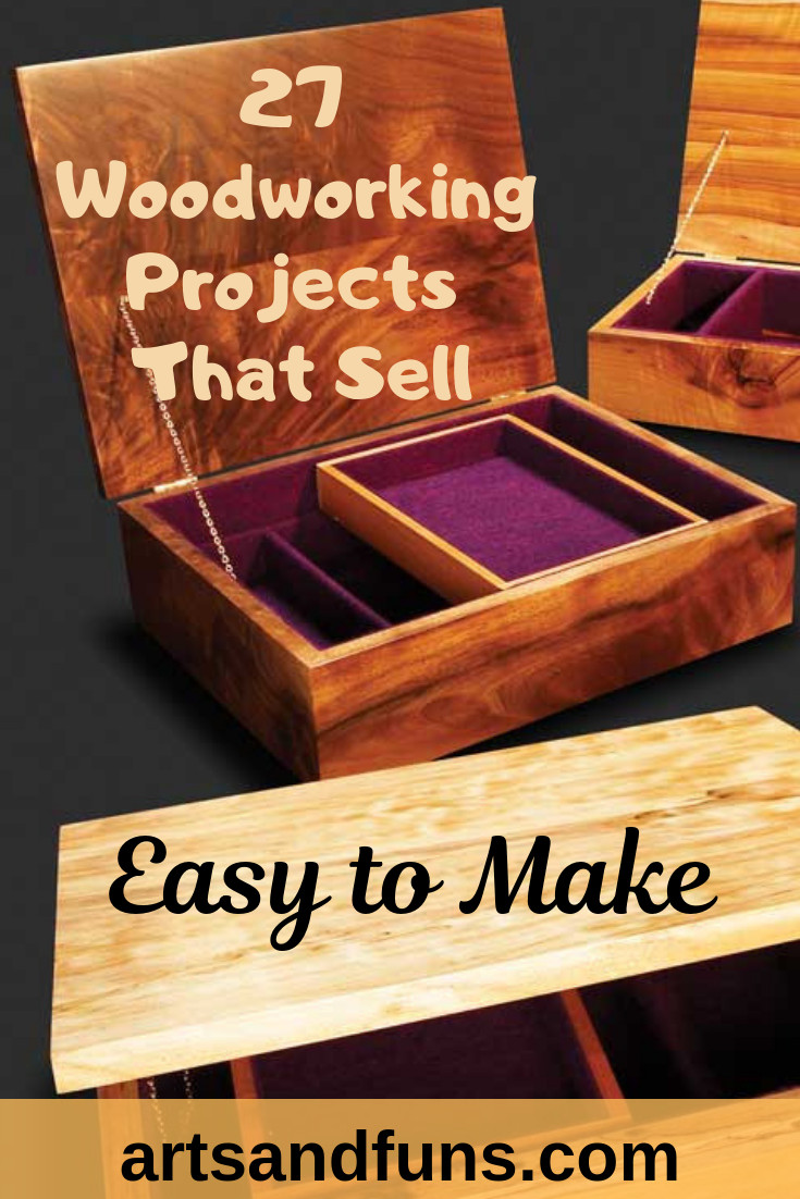 Wood Craft Ideas To Make Money  27 Woodworking Projects That Sell Easy to Make
