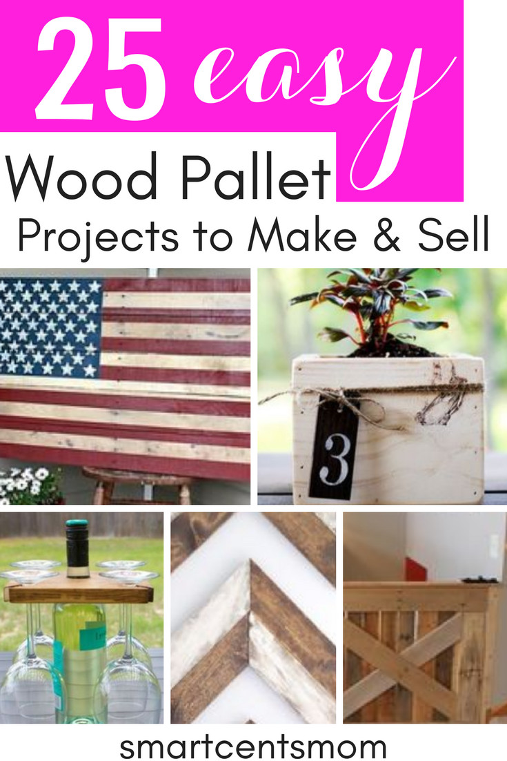 Wood Craft Ideas To Make Money  23 Pallet Wood Projects That Sell [Creative Ways to Make