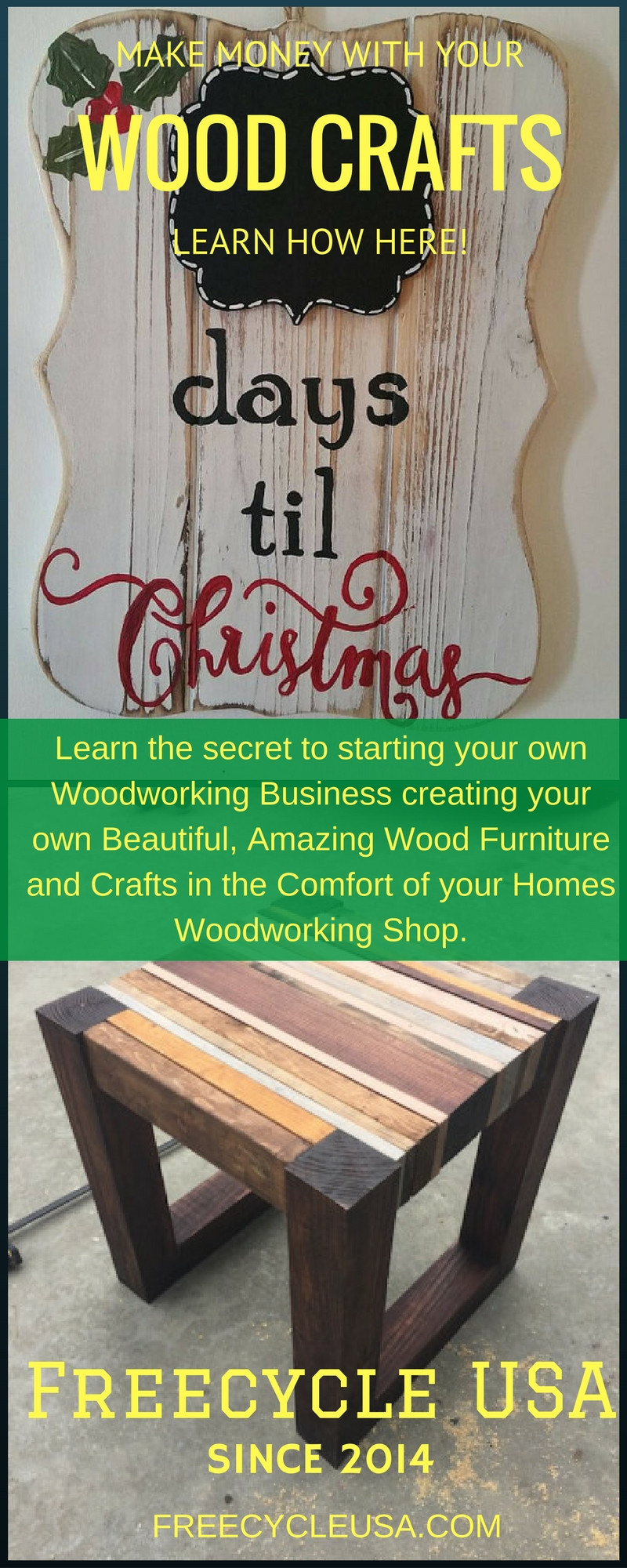 Wood Craft Ideas To Make Money  How To Make Easy Money With Your Wood Crafts FREECYCLE USA