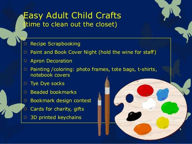 Workshop Ideas For Adults  36 Adult Program Ideas in 90 Minutes Workshop