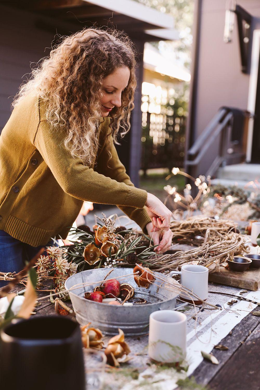 Workshop Ideas For Adults  DIY Winter Wreath Workshop