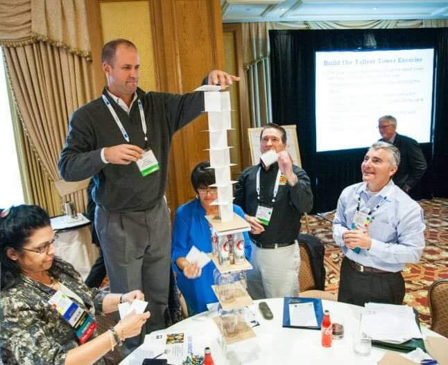 Workshop Ideas For Adults  Building the Tallest Tower Team Building Exercise