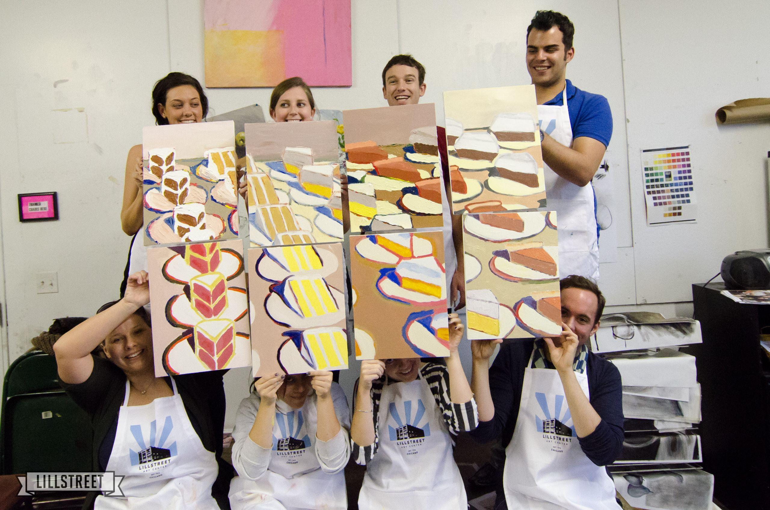 Workshop Ideas For Adults  Art Parties Lillstreet Art Center