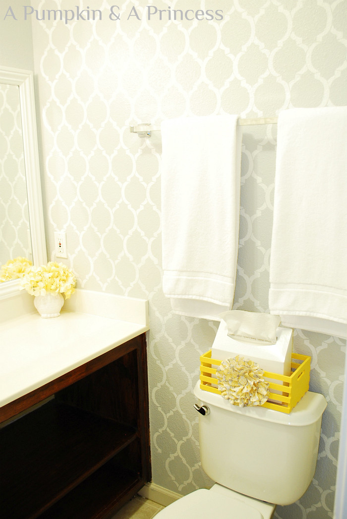Yellow And Gray Bathroom Decor  grey and yellow decor Archives A Pumpkin And A Princess