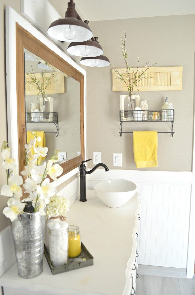 Yellow And Gray Bathroom Decor  Mood Board Why Primrose Yellow is The Perfect Summer Color