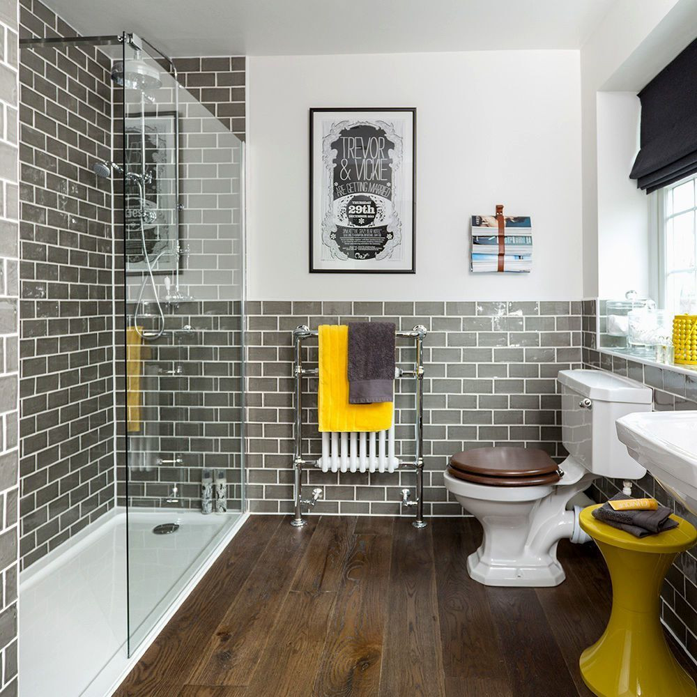 Yellow And Gray Bathroom Decor  Add Some Hints of Yellow Yellow and Gray Bathroom Ideas