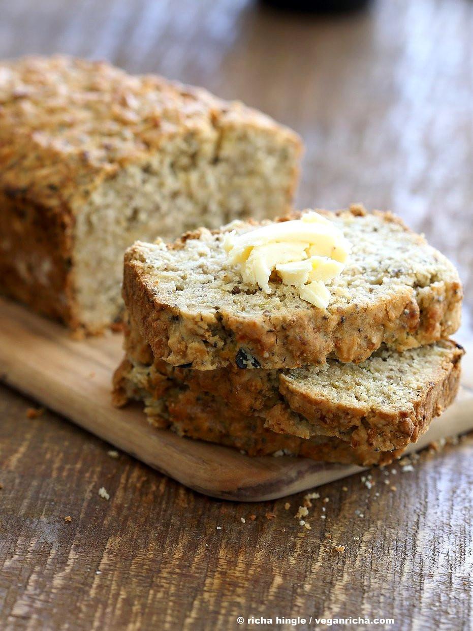 Zucchini Bread Vegan  Vegan Gluten free Zucchini Bread Recipe Vegan Richa