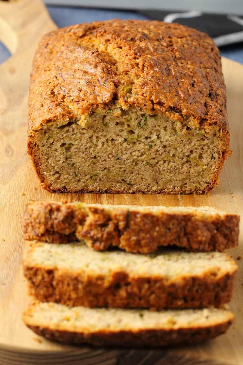 Zucchini Bread Vegan  Vegan Zucchini Bread Fluffy and Perfectly Moist Loving