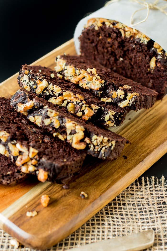 Zucchini Bread Vegan  Dark Chocolate Zucchini Bread – Vegan Gluten free