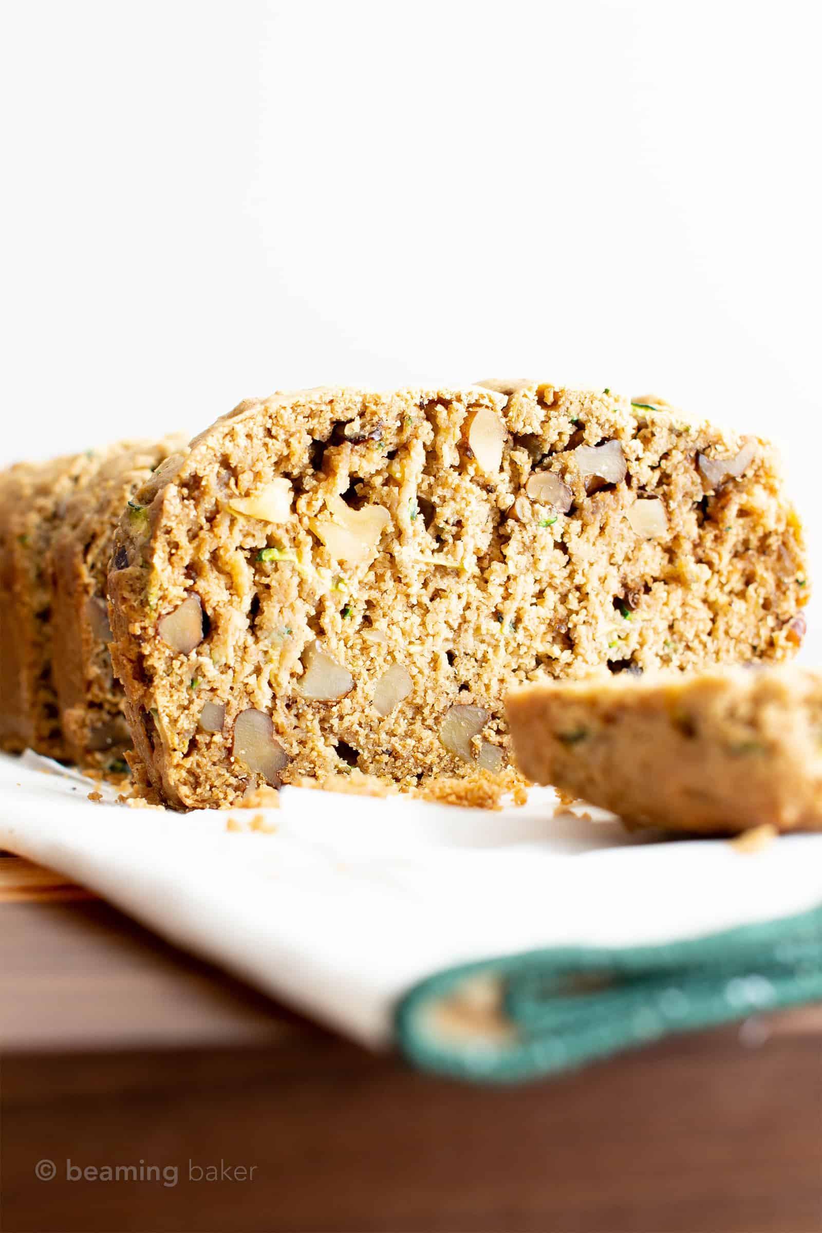 Zucchini Bread Vegan  Moist Vegan Gluten Free Zucchini Bread Recipe GF Easy